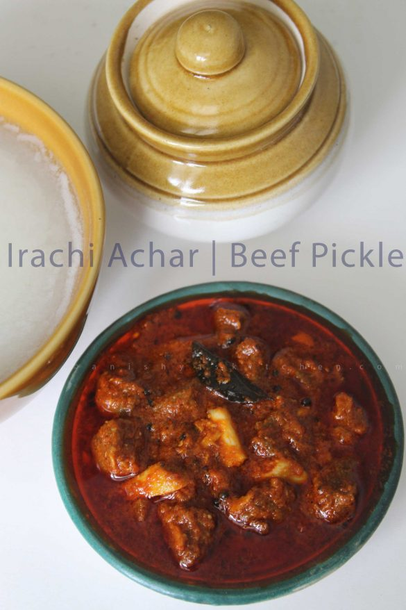 Kerala-beef-pickle-ecipe-beef-achar-irachi-achar-recipe