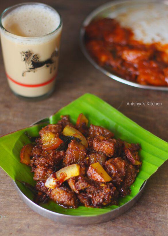 Angamaly-Pork-Ularthiyathu-Pork-Ularth-Pork-Roast-Pork-Dry-Roast-Kerala-Pork-Fry